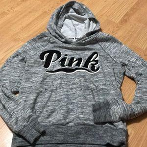 Pink Victoria Secret Women's hoodie size XS